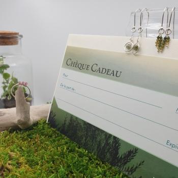 Chèque cadeau fête des mères - Ginger and Green